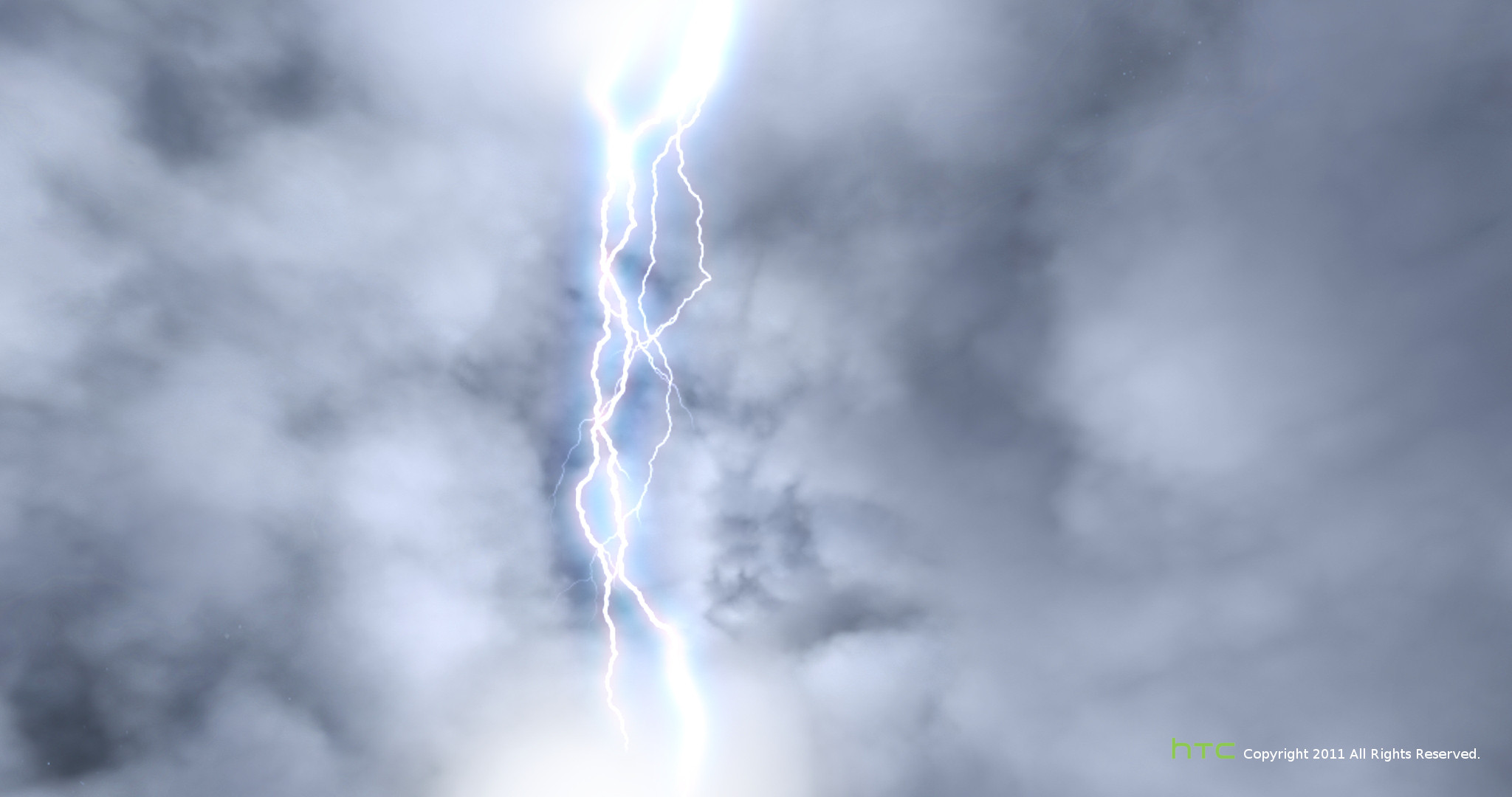 HTC mobile phone - Weather animation video ( thunderstorm-Night ). Click to view large image.
